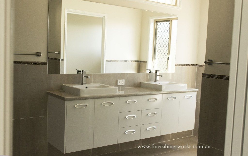 custom bathroom vanity Brisbane Northside
