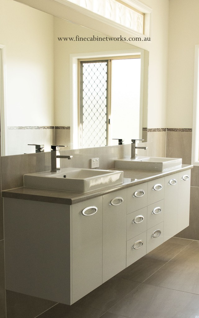 Custom Built Bathroom Vanity Brisbane Northside Custom