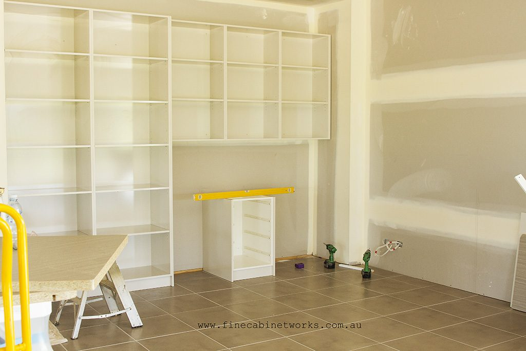 custom cabinets and office storage solutions Brisbane Northside