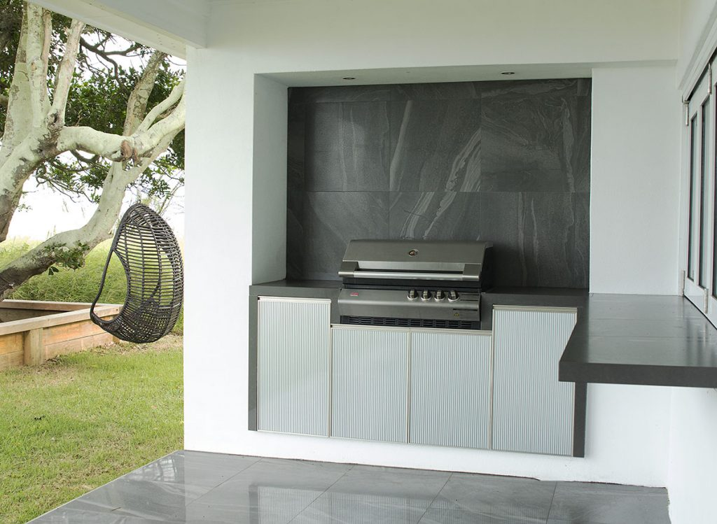 Outdoor kitchen renovations Beachmere outdoor kitchen cabinets
