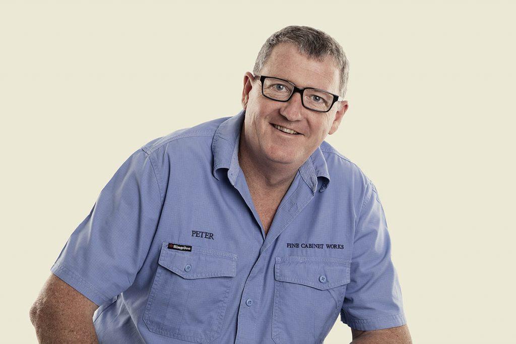 cabinet maker Peter Martindale